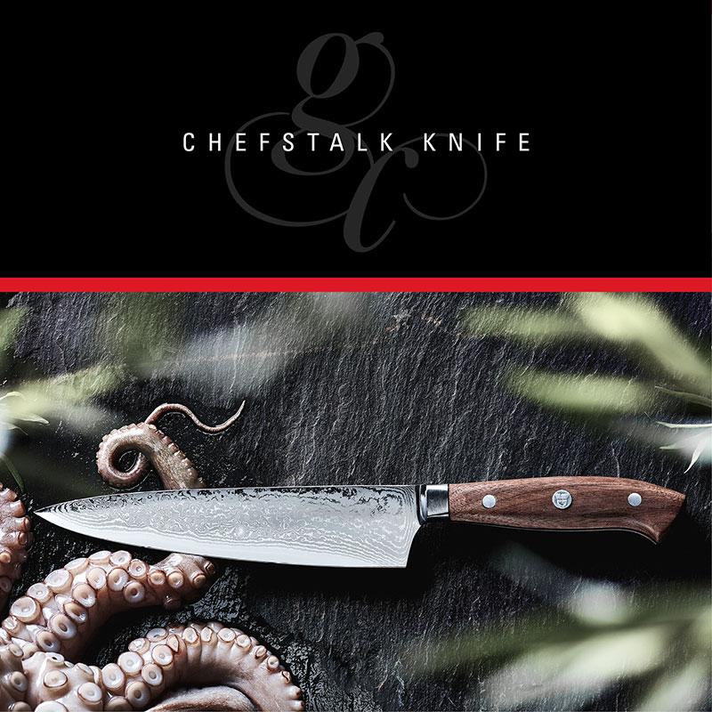 Profi Kochmesser ChefsTalk Knife